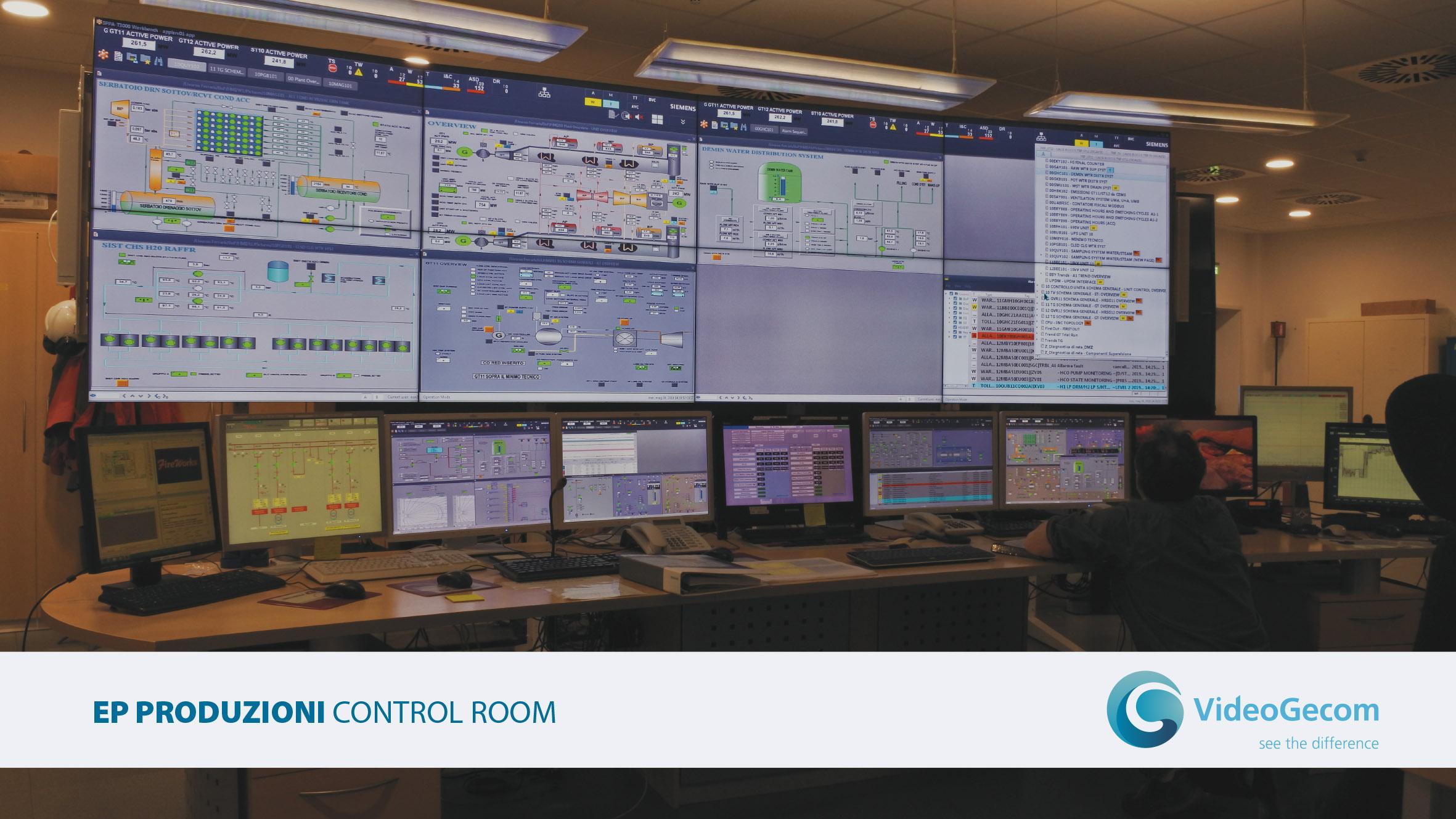 VideoGecom - soluzioni - Control Room