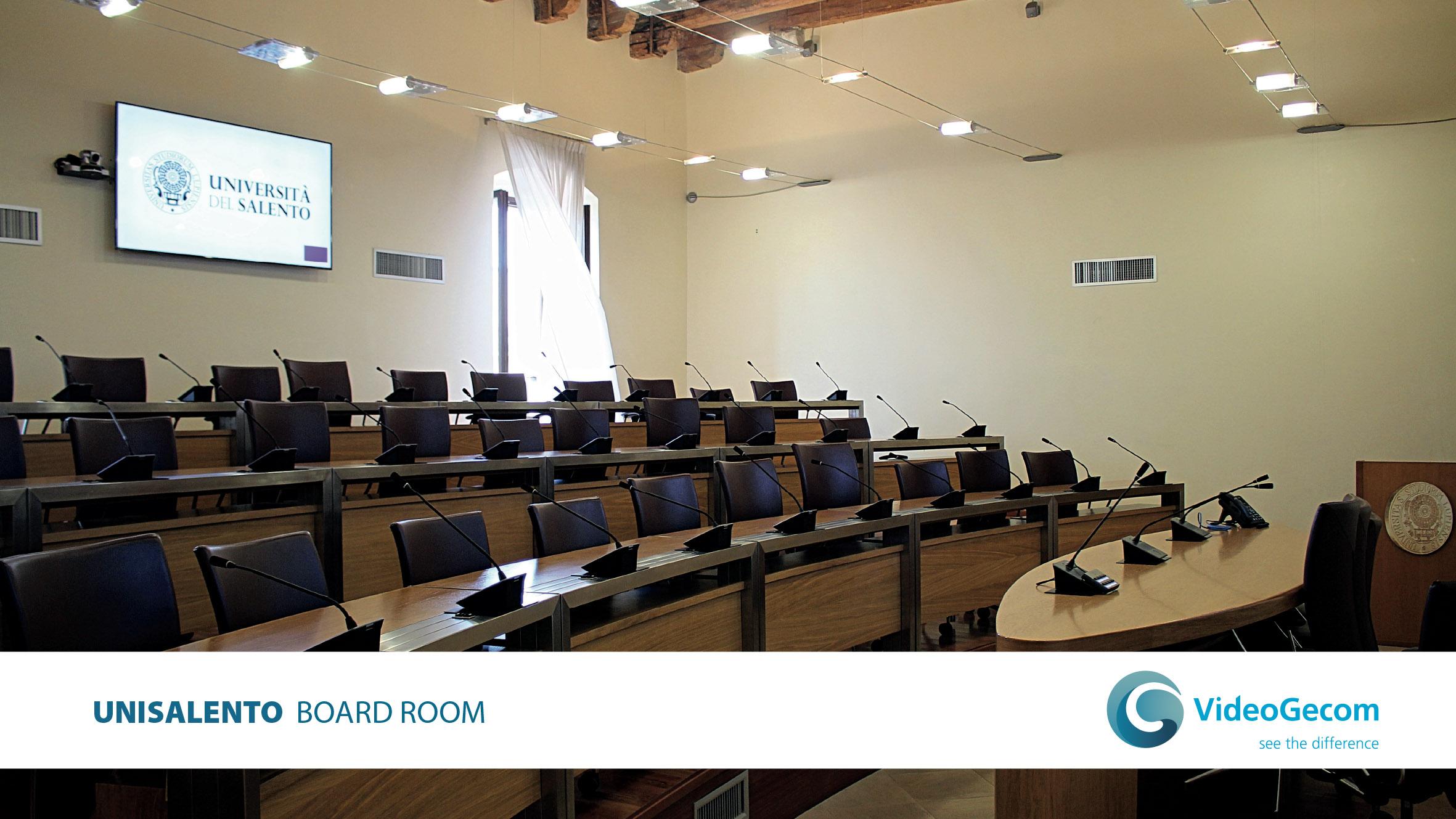 VideoGecom - soluzioni - Board Room