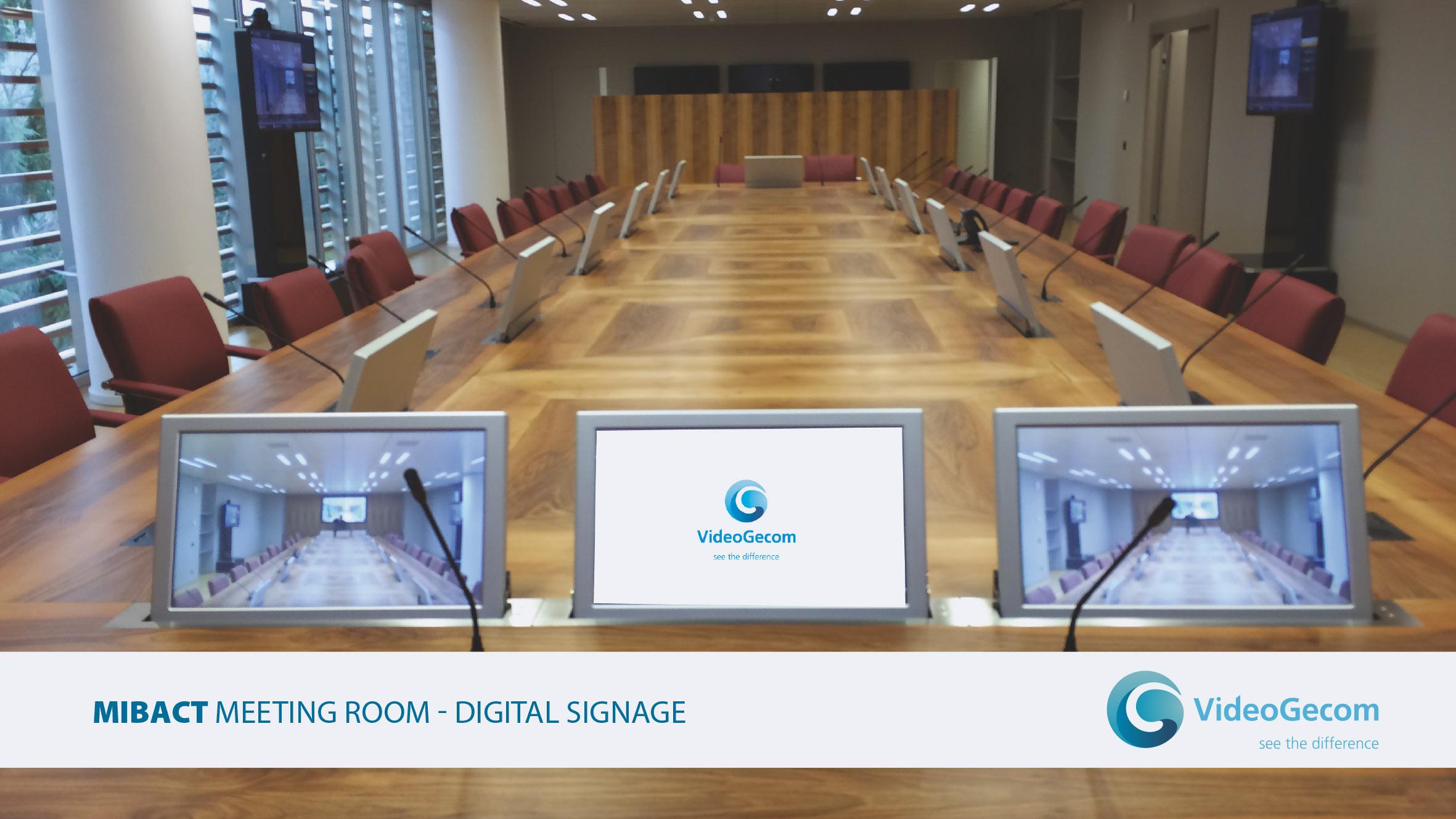 VideoGecom - soluzioni - Meeting Room - Digital Signage