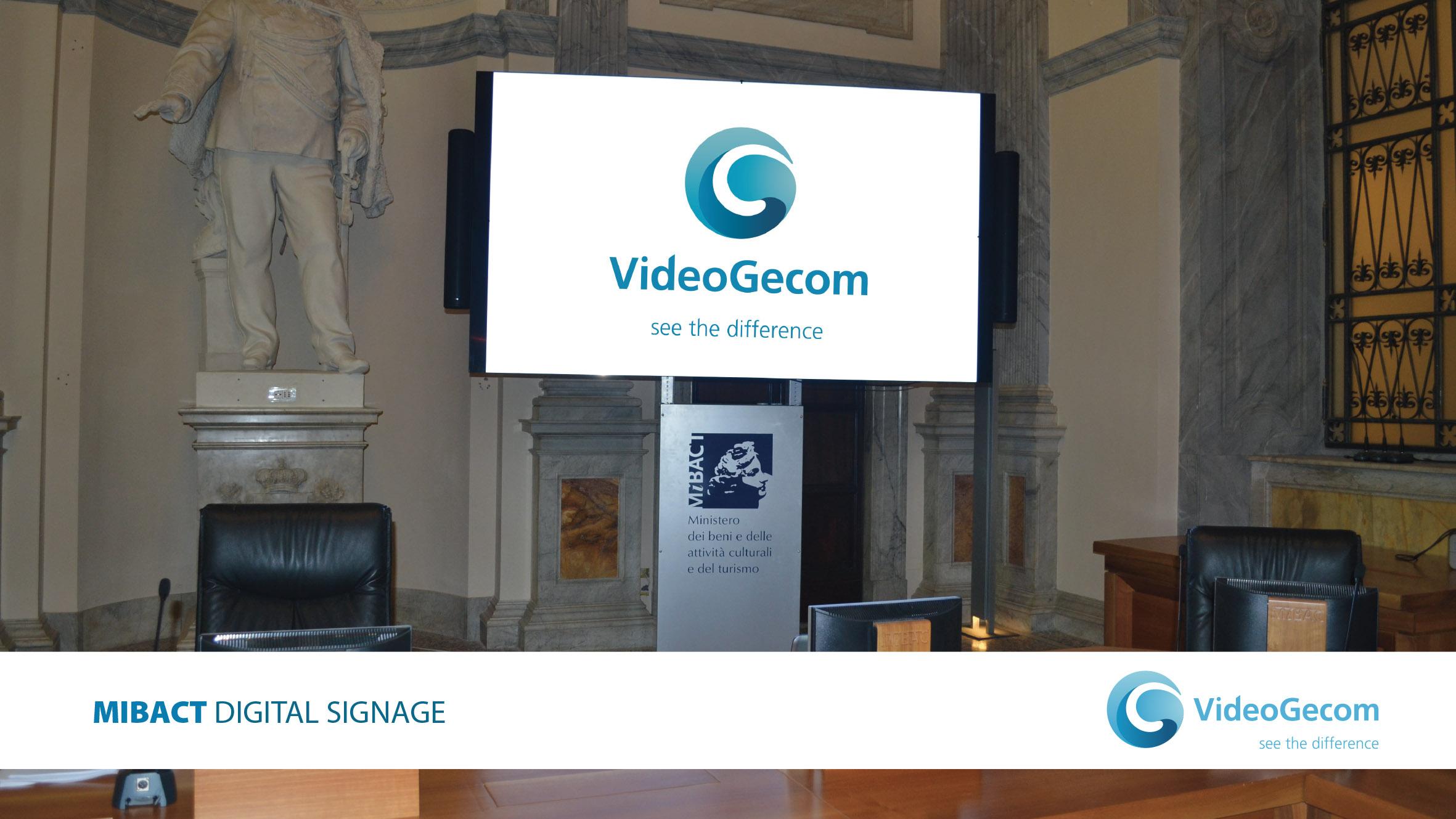 VideoGecom - soluzioni - Digital Signage